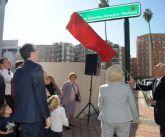 Una calle del centro de Murcia lleva desde hoy el nombre de Antonio González-Conejero