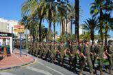 La AGA sorprende a los vecinos de Santiago de la Ribera con una marcha de todos sus alumnos por el centro de la localidad