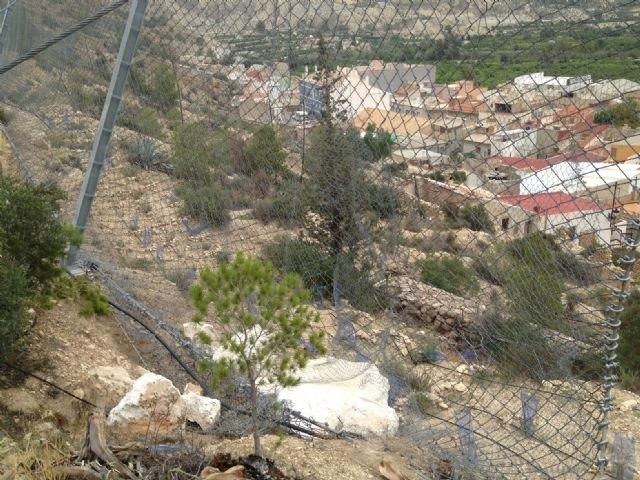 Desarrollo Rural y Forestal consolida las laderas de los montes de utilidad pública en los municipios de Blanca y Ulea - 1, Foto 1
