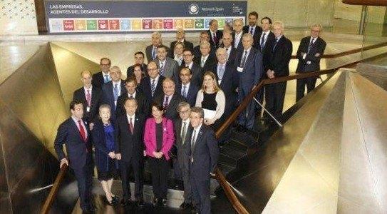 El presidente de COATO con el Secretario General de la O.N.U. - 2, Foto 2