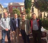 Invertirán 350.000 euros para mejorar la depuradora de Pliego y que los regantes puedan usar directamente el agua para sus cultivos