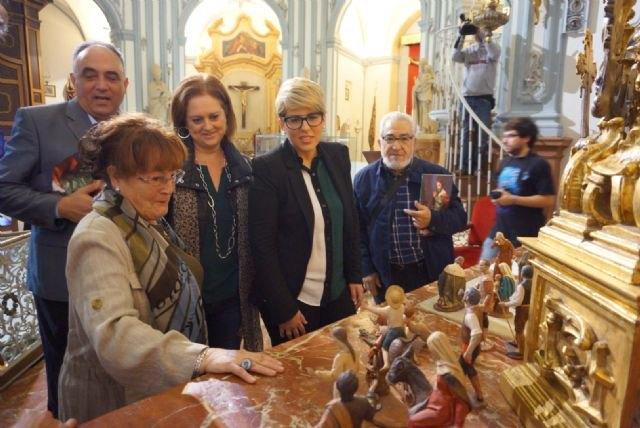 San Juan de Dios acoge la exposición de medio centenar de figuras realizadas por Hernández Navarro para el belén de ´La Pava´ - 2, Foto 2