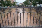 Se registra una media de 21litros por metro cuadrado en Totana a consecuencia de las lluvias torrenciales de la pasada noche