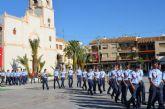 El alcalde declara 'vecinos' del municipio a los 114 alumnos de nuevo ingreso de la AGA en su visita oficial al municipio