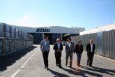 El Alcalde, Joaquín Buendía, visita Sistema AZUD, otra de las grandes empresas de Alcantarilla