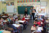 Nuevo mobiliario escolar para el CEIP Juan Antonio López Alcaraz de Puerto Lumbreras