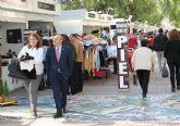 El alcalde anima a los ciezanos a visitar la VII Feria Outlet