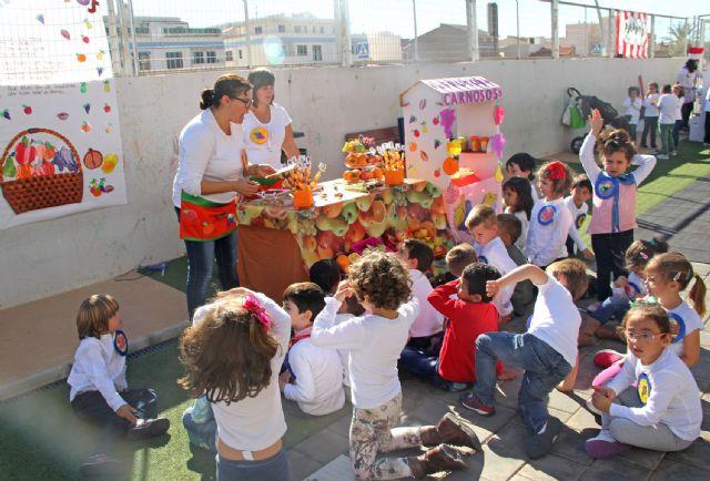 Los niños de Puerto Lumbreras celebran la llegada del otoño con la Fiesta de la Castañada - 1, Foto 1