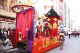 Festejos ampl�a a 600 euros la subvenci�n para participar en el desfile de carrozas