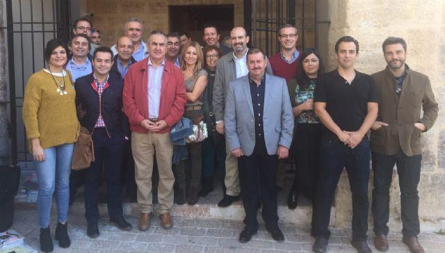 González Tovar afirma en Mula que el PSOE está comprometido con la cultura, con el comercio tradicional y con los bienes patrimoniales de la Región - 1, Foto 1