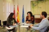 La Comunidad y el Ayuntamiento de Murcia acuerdan mejorar la coordinación del 1-1-2 y los servicios de Protección Civil del municipio