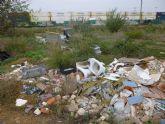 Ahora Murcia denuncia la presencia cada vez mayor de amianto en escombreras ilegales de pedanías