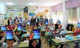 El colegio Purísima Concepción de La Estación-Esparragal de Puerto Lumbreras se une al proyecto 'Samsung Smart School'