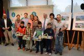 Cuatro escolares de San Pedro del Pinatar, finalistas del Concurso de dibujo infantil de Aqualia