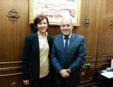 El alcalde de Cieza se reúne con la presidenta regional de la Liga Española de la Educación