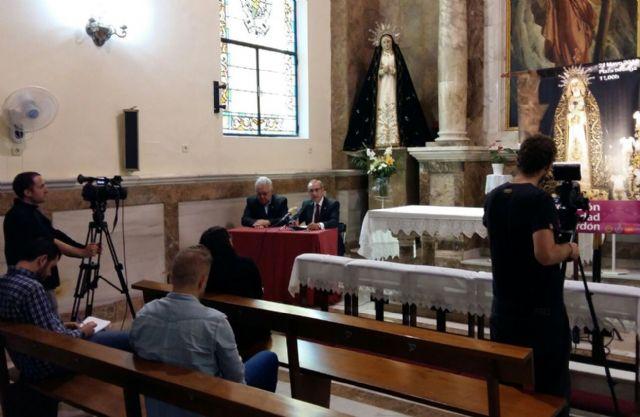 La Cofradía del Perdón celebra su 120 aniversario con la coronación canónica de la Virgen de la Soledad - 1, Foto 1