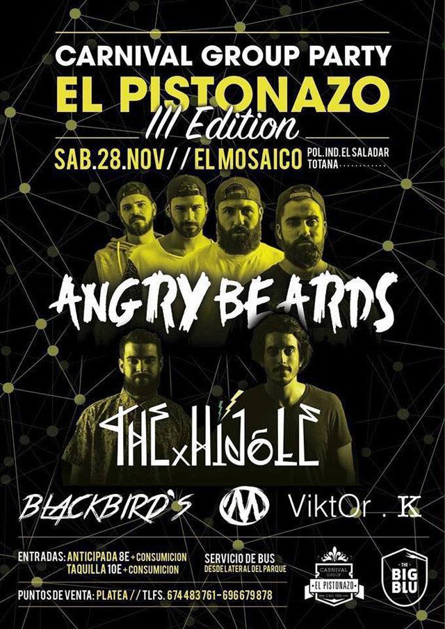 El Carnival Group Party El Pistonazo III Edition tendrá lugar el próximo sábado 28 de noviembre, Foto 1
