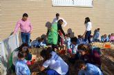 El Centro de Atención Infantil de Santiago de la Ribera ya cuenta con un huerto ecológico