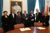 La UCAM incrementa sus relaciones con China