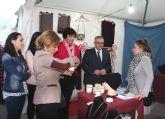 Puerto Lumbreras acoge una nueva edición de la Feria del Comercio con más de una veintena de comerciantes