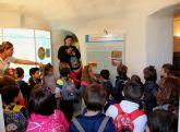 Alumnos del colegio Villaespesa de Lorca visitan el complejo turístico Medina Nogalte de Puerto Lumbreras