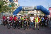 343 corredores participan en la XXX marcha ciclista Bahía de Mazarrón