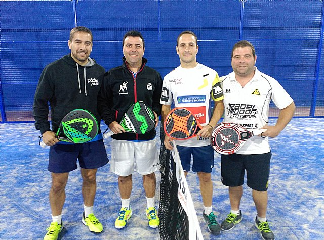 Deportivo de Padel Indoor Totana starts its participation in the Regional federated paddle League team in the 3rd category, Foto 1