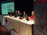 Ballesta destaca el trabajo de Cruz Roja que ha permitido a Murcia ser pionera en la prevención del VIH entre los jóvenes