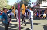 Puerto Lumbreras acoge la I edición de la Semana Saludable con clases de gerontogimnasia y actividades deportivas en los parques del municipio
