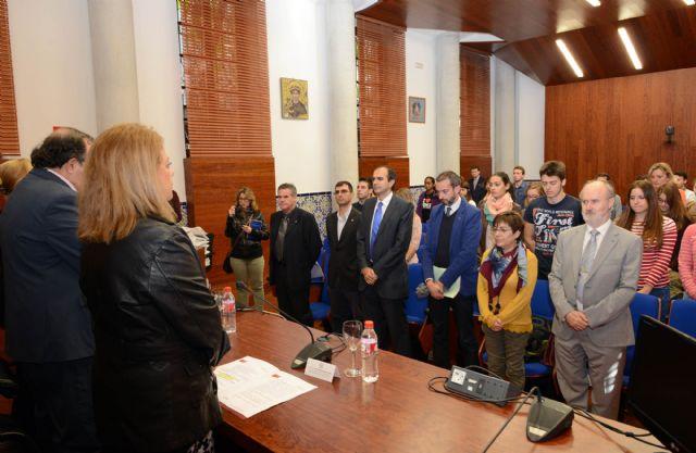 El rector Orihuela transmite la condolencia de la Universidad de Murcia por los atentados de Francia - 1, Foto 1