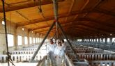 Juan Pag�n visitan explotaciones ganaderas de Alhama