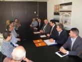 Comunidad y municipio de San Javier colaboran en la implantación de nuevas medidas para eliminar los fondeos en el Mar Menor