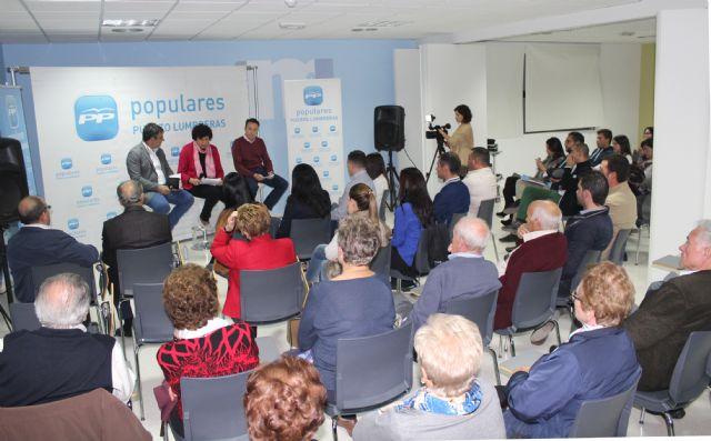 Encuentro de afiliados y simpatizantes del PP de Puerto Lumbreras con Juan María Vázquez y Fulgencio Gil - 1, Foto 1