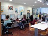 El Ayuntamiento de Murcia facilita el uso de Internet a los jóvenes gracias al Aula de Libre Acceso del Informajoven