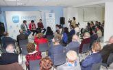 Encuentro de afiliados y simpatizantes del PP de Puerto Lumbreras con Juan María Vázquez y Fulgencio Gil