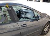 La Guardia Civil esclarece una quincena de robos en interior de vehículo
