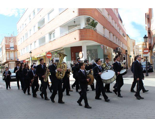 La Banda Municipal de Música de Puerto Lumbreras celebra la Festividad de Santa Cecilia 2015 con un Pasacalles - 1, Foto 1