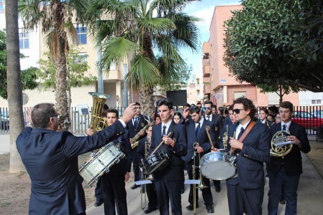 La Banda Municipal de Música de Puerto Lumbreras celebra la Festividad de Santa Cecilia 2015 con un Pasacalles - 2, Foto 2