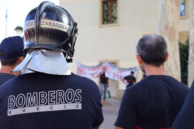 CGT: A 48 horas del juicio, la administración murciana intenta solucionar las deficiencias denunciadas por CGT en el parque de bomberos de Lorca - 1, Foto 1