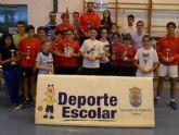 Un total de 120 escolares participaron en la Fase Local de Bádminton de Deporte Escolar, organizada por la Concejalía de Deportes, en la Sala Escolar