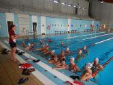 Jornada de convivencia club Natación Ciudad de Murcia y club de natación máster en la ciudad de Murcia