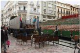 Pacheco lamenta que 'murcianos y turistas no podrán disfrutar de nuestra Semana Santa desde la Plaza Belluga por el empecinamiento de Ciudadanos, PSOE y Ahora Murcia'
