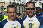 Dos corredores del Club atletismo de Totana participaron en la decimocuarta edición del Cross de la Artillería en Cartagena