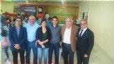 La Peña Barcelonista de Totana participó en el XX aniversario de la PB de Santomera