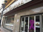 Los comercios y edificios públicos de Archena, contra la violencia de género