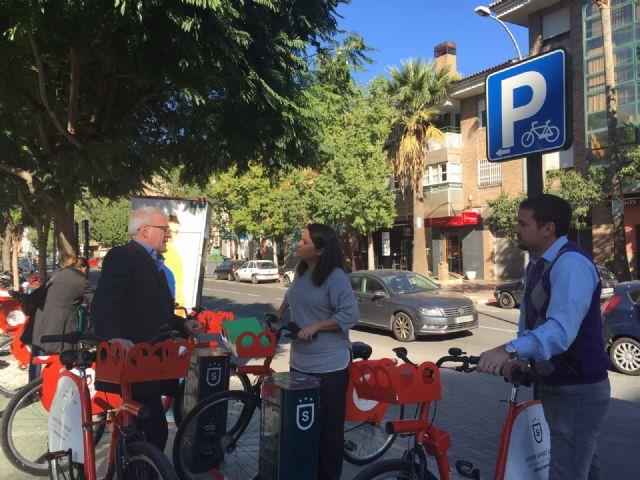 La Mancomunidad de la Ribera Alta de Valencia se interesa por la Oficina de la Bicicleta de Murcia y MUYBICI - 1, Foto 1