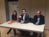 El candidato n°1 del PSOE al Senado se reune con los clubes deportivos de Totana