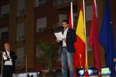 El entrenador de ElPozo Murcia Fútbol Sala, Duda, leyó en Alcantarilla el Manifiesto en el Día Internacional para eliminación de la Violencia de Género