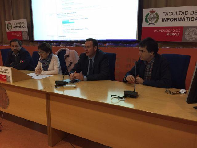 Guillén expone en la Universidad de Murcia la transformación de la ciudad en SmartCity - 1, Foto 1