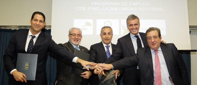La UCAM colabora en el programa de Empleo para Deportistas COE - 2, Foto 2